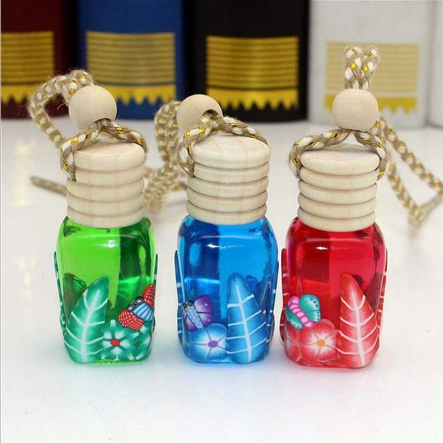 Mini Gl Bottles Vials Empty Tiny Bottle Jars Decoration In Car Container High Quality Storage