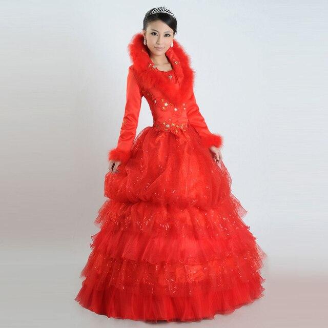f212a7929e US $70.99 |wedding dress 2014 red dress cotton wedding dress formal dress  d120-in Wedding Dresses from Weddings & Events on Aliexpress.com | Alibaba  ...