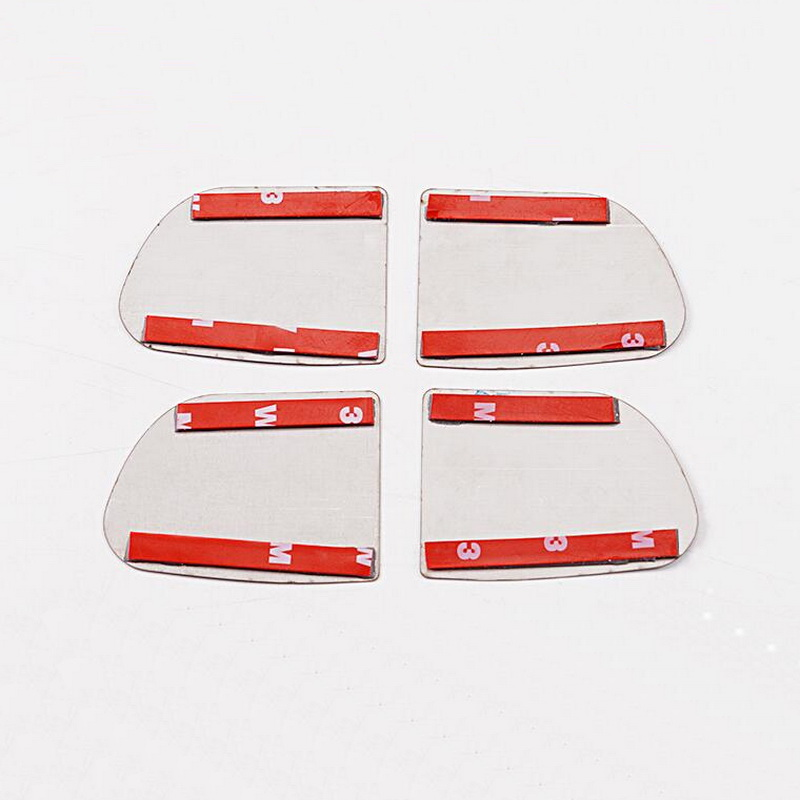 Tonlinker внутренняя дверная ручка чаши крышка наклейка s для HONDA VEZEL HRV-19 автомобильный Стайлинг 4 шт. крышка из нержавеющей стали наклейка