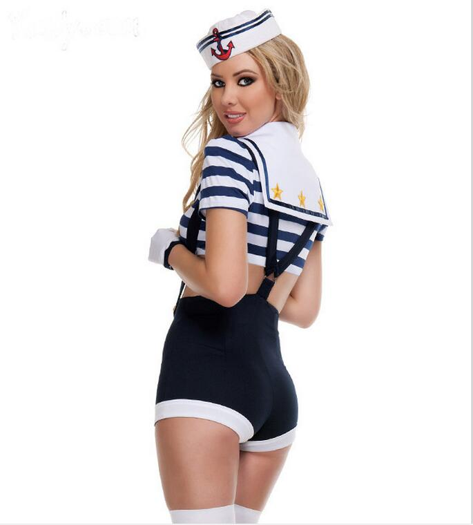 Sexy Makin' Waves Sailor Costumes for Women Sexy Sailor Halloween Costume  Adult Female Womens Sailor Costume-in Sexy Costumes from Novelty & Special  Use on ...