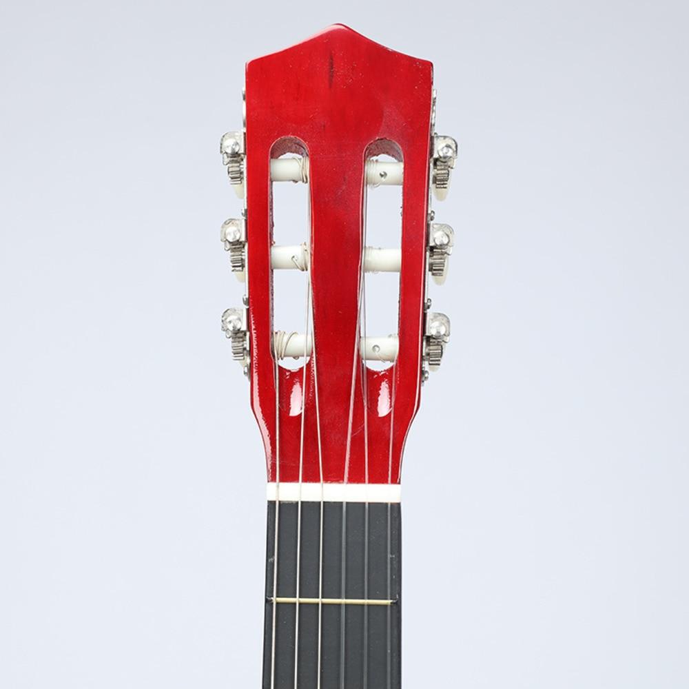 38 Inch Clasic Wood Guitar Beginner Practica muzicala Instrumente - Materiale școlare și educaționale - Fotografie 2
