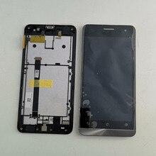 จอแสดงผล LCD จอสัมผัส Digitizer Glass Assembly สำหรับ ASUS Zenfone 5 จอแสดงผล T00J A500KL A500CG A501CG