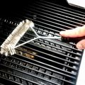 12inch Barbecue Grill BBQ Brush Stainless Steel Wire Bristles Cleaning Brushes With Handle Cooking Tool Supplies