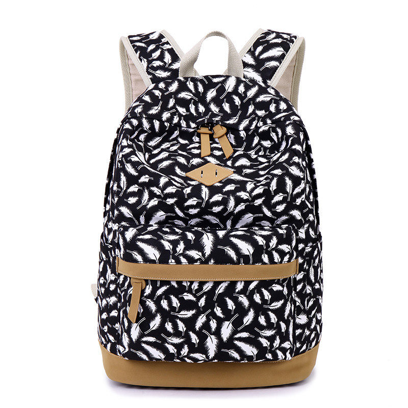 Ladies personality Backpack fashion girl shoulder bag new 2017 student school bags women mochila Free shipping