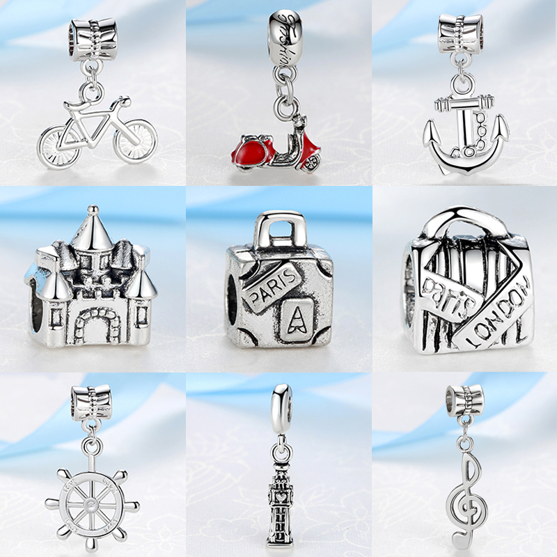 10PCS Remember the moments Tibetan Silver Memories Charms Lot Pendants Bead Lot