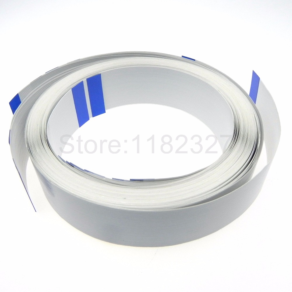 High Quality Flat Flex Cable white material 30pin 1.0mm pitch same side contact A type 2000mm 2 Meters length FFC cableHigh Quality Flat Flex Cable white material 30pin 1.0mm pitch same side contact A type 2000mm 2 Meters length FFC cable