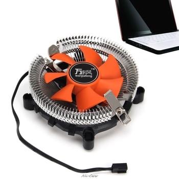 2200rpm CPU cichy wentylator chłodzący radiator chłodnicy dla Intel LGA775/1155 dla AMD AM2/3 dla PC komputer wentylatory i chłodzenie