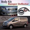 Deflector de Labios Lip Bumper Para Nissan Evalia NV200 Vanette Para Chevrolet City Express Spoiler Delantero Falda/Kit de Carrocería/tira
