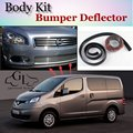 Deflector pára Lábio Lábios Para Nissan Evalia NV200 Vanette Para Chevrolet City Express Spoiler Dianteiro Saia/Body Kit/tira