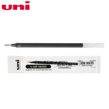 Recharges de Gel Mitsubishi Uni ball UMR-5, pour UM-100, noir/rouge/bleu/bleu marine, fournitures d'écriture, 6 pièces, 2018