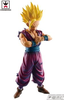 Original Banpresto Dragon Ball Z  Figurine Son Gohan Super Saiyan resolution of soldiers vol.4 figure toy ros 1