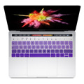 """For 2016 Mac Book Pro Retina 13"""" 15"""" with Touch ID and TouchBar Keyboard Cover EU English Gradient Silicone Skin Keyboard Cover"""