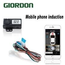 Akıllı telefon kontrolleri oto parçaları cep telefonu indüksiyon otomatik kumanda araba bluetooth bağlantısı rahat erişim