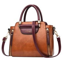 Women PU Leather Handbags Shoulder Bags Casual Female Crossbody Top Quality Dames Handbag