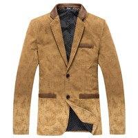 Automne printemps hommes de blazer hommes de Smart casual veste hommes slim fit mode coton blazer Costume Veste Hommes manteau robe de mariage