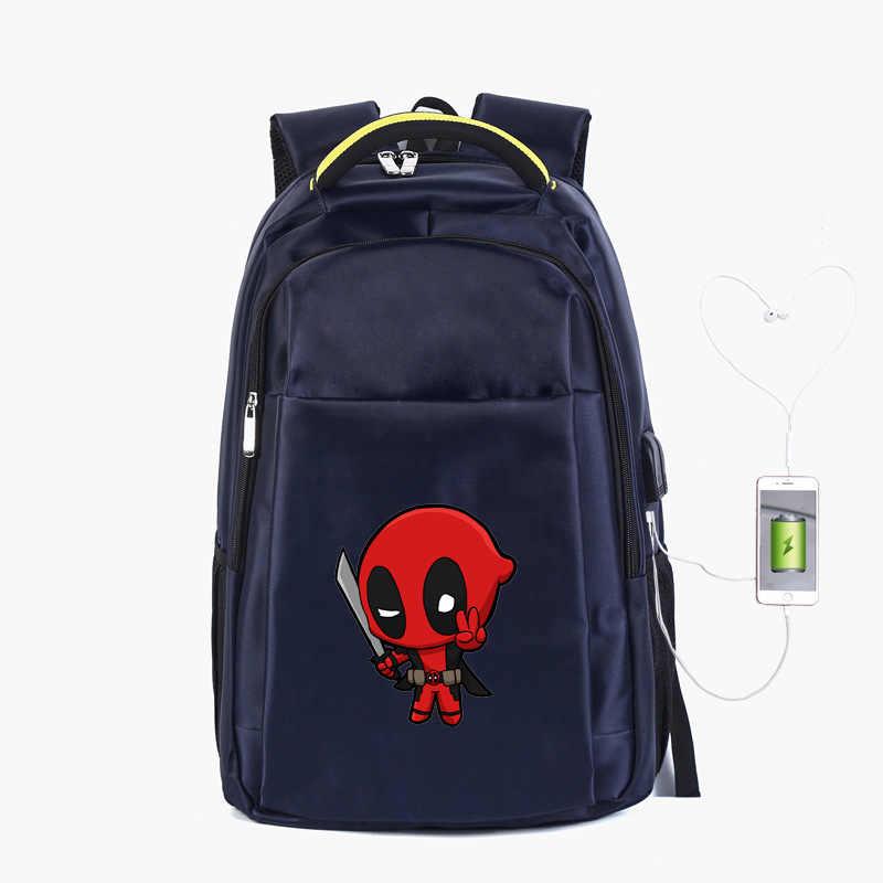 19 Inch Backpack Laptop Knapsack Travel