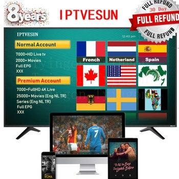 Estados Unidos Reino Unido Francia Brasil europeo alemán EVDTV iptv cuenta  reailer panel iptv