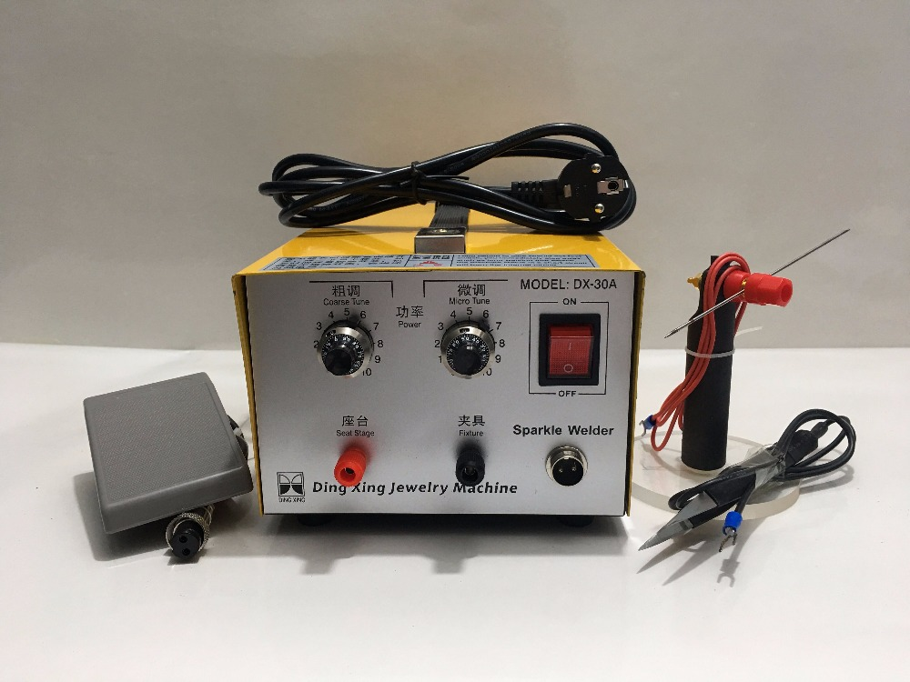 DX-30A Golden Welding Laser Spot Welding Good Pulse Spot Welder 200W Jewelry Welding Machine Gold Silver PlatinumDX-30A Golden Welding Laser Spot Welding Good Pulse Spot Welder 200W Jewelry Welding Machine Gold Silver Platinum