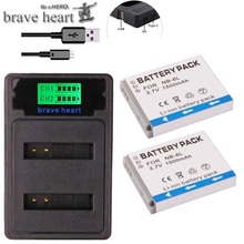 NB-6L NB-6LH NB 6L 6LH NB6L NB6LH Батарея pack+ зарядное устройство для Canon IXUS 85 95 SX275 SX280 SX510 PowerShot D10 S90 SD1200 200