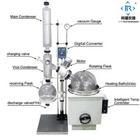10L RE2003 China Factory Price for vacuum distiller Rotary evaporator/Rotovap ( Vacuum pump and chiller optional)