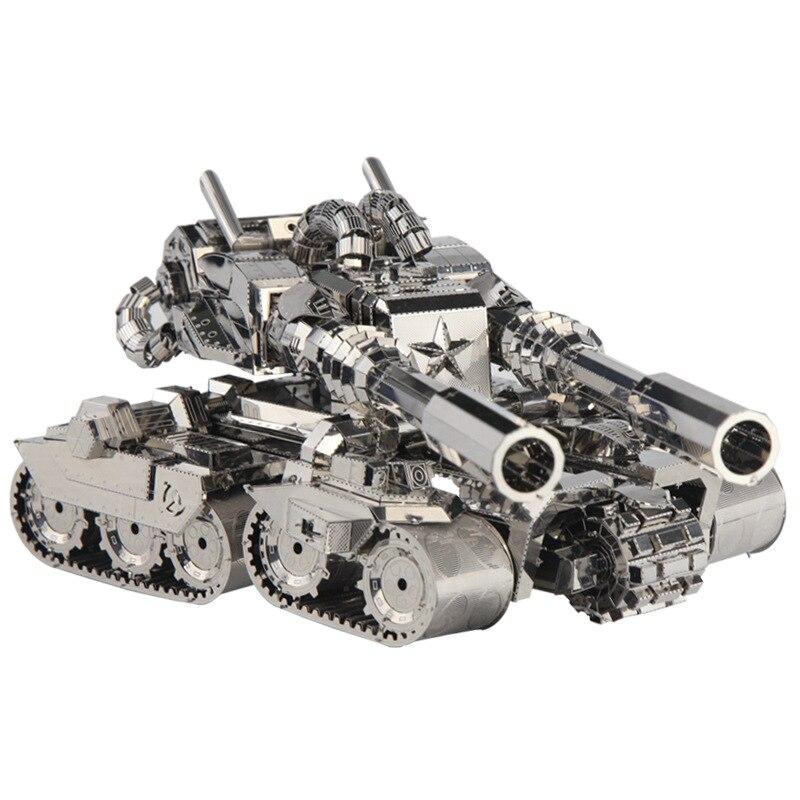 Здесь можно купить  3D Puzzle Tank Custom Crafts Gift Toys Educational Diy Metal Model  Игрушки и Хобби