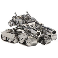 3D Puzzle Tank Custom Crafts Gift Toys Educational Diy Metal Model