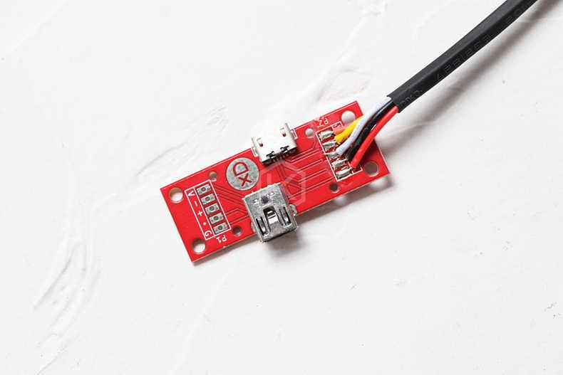 XD Hot Swap USB Modul Dip USB Mini Prot untuk Keycool 71 84 87 104 108 RGB USB Bus untuk xd87