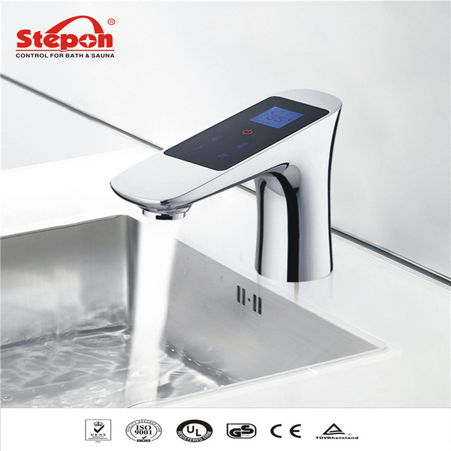 2016 LCD Touch Intelligent Thermostat Faucets Electronic Basin ...