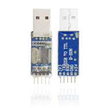 Free shipping! USB to TTL / USB-TTL /PL2303 USB To RS232 TTL Converter Adapter Module For Arduino CAR Detection GPS