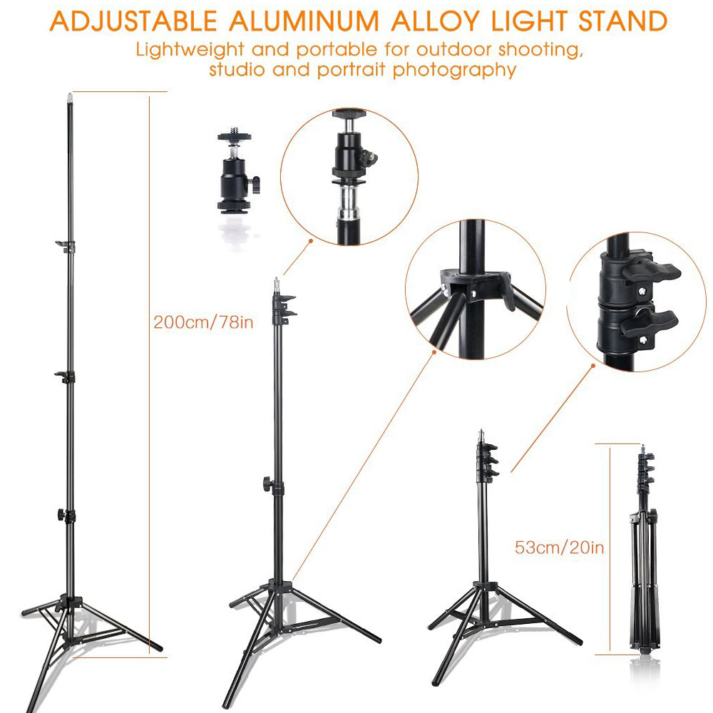 Image 5 - spash TL 160S LED Video Light Kit Photography Lighting with Stand NP F550 Battery Dimmable 3200K/5600K 160 LED Studio Lamp-in Photographic Lighting from Consumer Electronics
