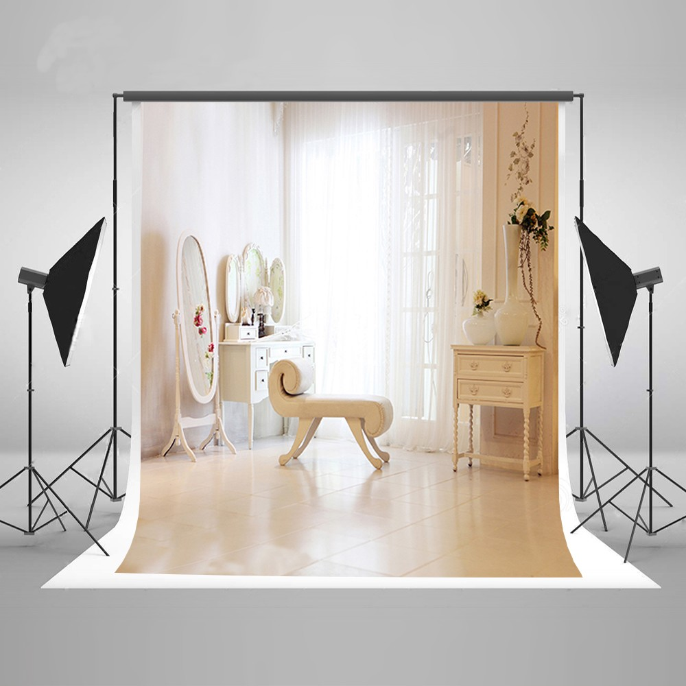 Curtains Dresser Girl Boudoir photo backdrop Vinyl cloth High quality Computer printed party photography studio background white rustic old wood plank texture backdrop vinyl cloth computer printed party photography studio background
