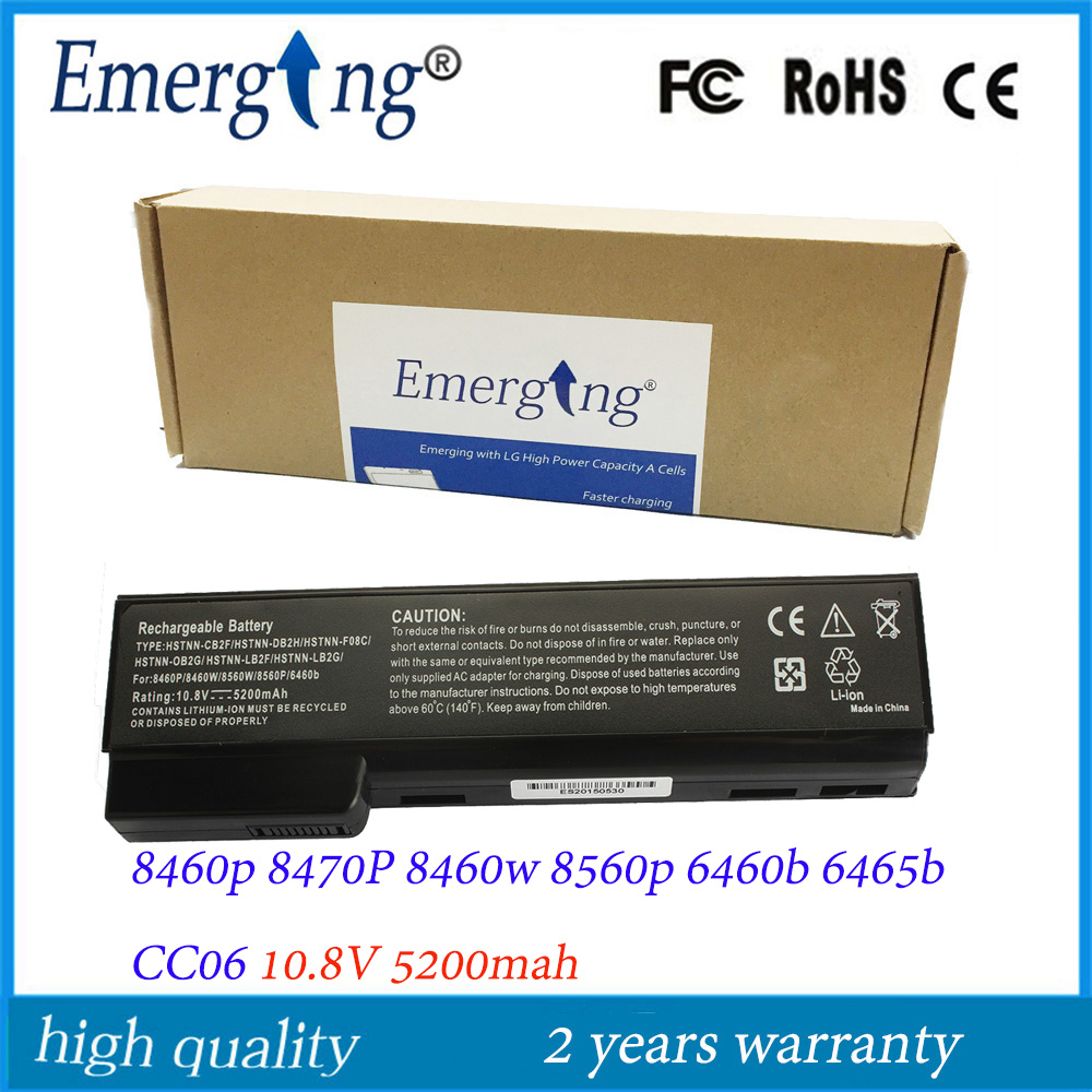 10.8V 5200Mah New External Japanese Cell Laptop Battery for HP EliteBook 8460w 8560p 8460p ProBook 6560b 6360 ssea us keyboard new for hp elitebook 8410p 8460p 8460w 8470p 8470w probook 6460b 6465b 6470b 6475b without frame