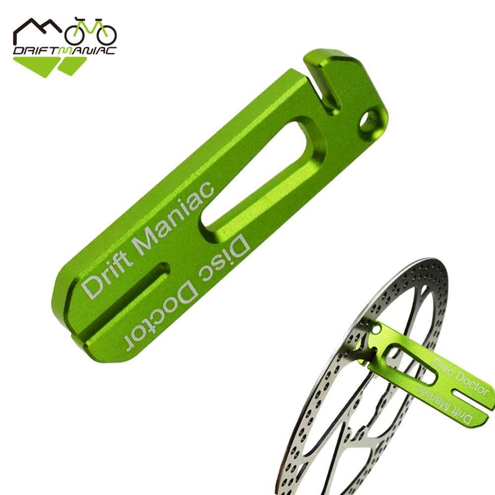 DRIFT MANIAC Bicycle Disc Brake Rotor Truing Tool MTB Bike Disc Repair Tools Bikepacking Outdoors