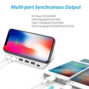 Image 4 - STOD Multi Porta USB Senza Fili Caricatore 60W Stazione di Ricarica Carica Rapida 3.0 Supporto Per iPhone X Samsung Huawei Nexus mi Adattatore