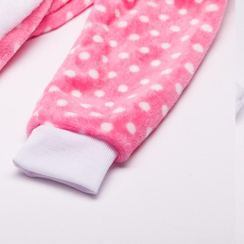 Payız Qış Oğlanları Qızlar Pijama Sevimli Cizgi Filmi KT Pişik - Karnaval kostyumlar - Fotoqrafiya 5