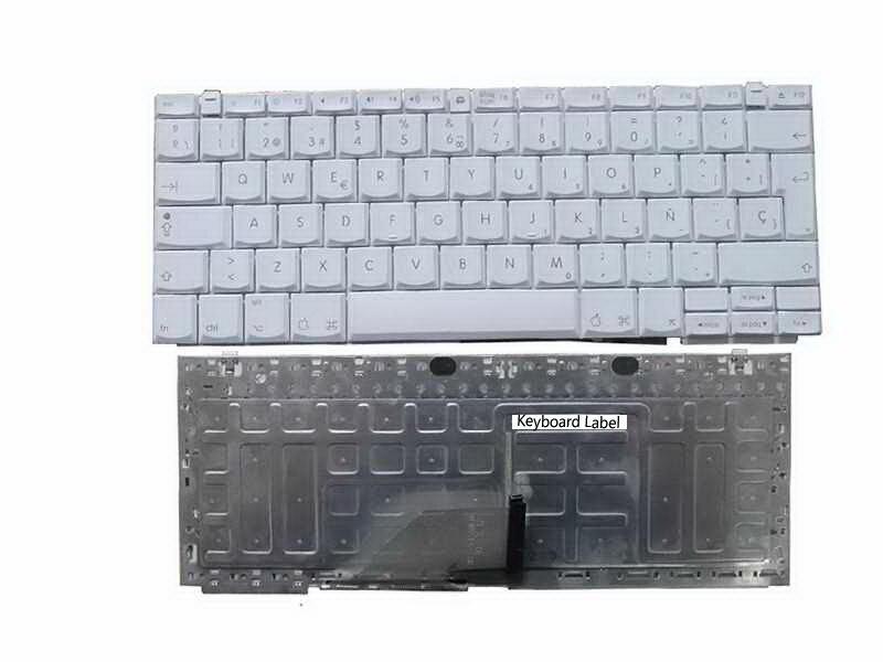 New Laptop keyboard for Apple iBook 12.1 12 G4 Series SP  layout new notebook laptop keyboard for sony vgn bz vgn bz11xn series sp layout