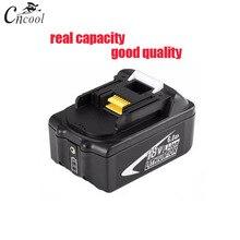 Cncool 100% 18 V 6000 mAh Перезаряжаемые литий-ионный Батарея для Makita BL1860 Мощность инструменты 194309-1 BL1815 BL1830 BL1840 LXT400 светодио дный свет