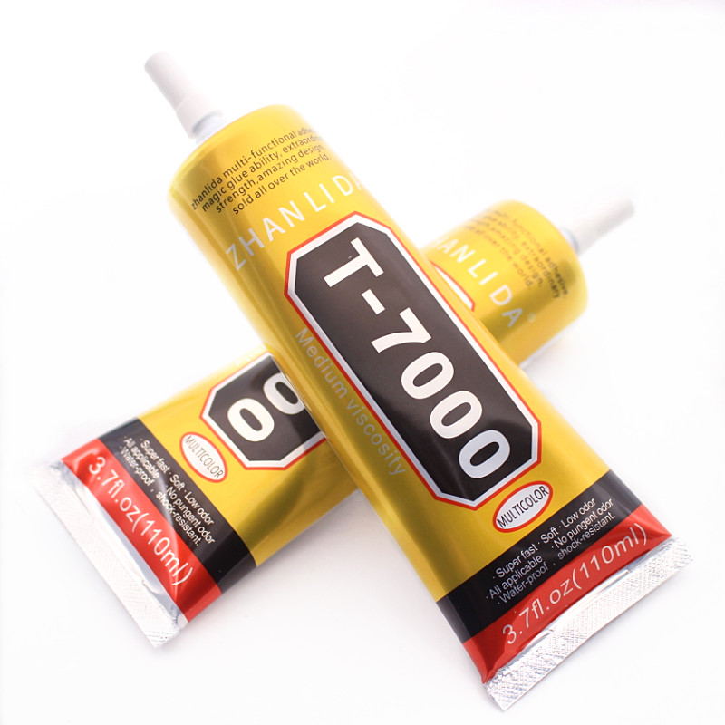 110ml Industrial Liquid T7000 Glue Textile Paper Leather Zhanlida T-7000 Epoxy Resin Conductive Adhesive B7000 Stationery Store