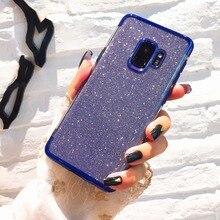 Роскошный мягкий силиконовый чехол для samsung Galaxy J5 J7 A5 A7 EU блестящая задняя крышка для samsung A6 A8 Plus