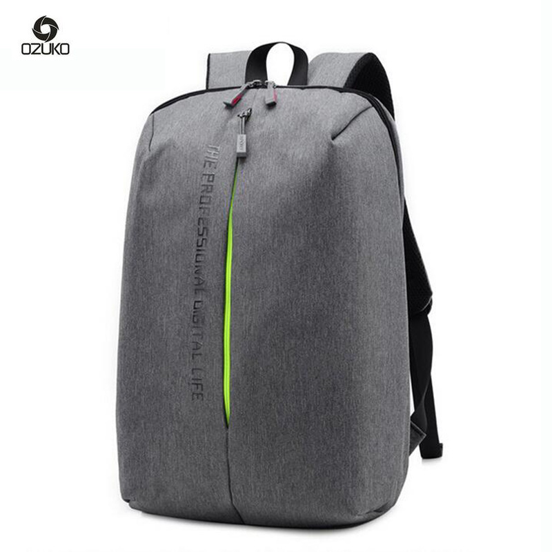 OZUKO Men Backpack Designer Printing Laptop Backpack Fashion Waterproof School Bags For Teenagers Travel Women Backpack naruto write round eyes backpack fashion casual backpack teenagers men women s student school bags travel laptop bag