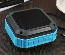 mini subwoofer water/mud/shock proof hifi speaker with line in help hands-free telephone name
