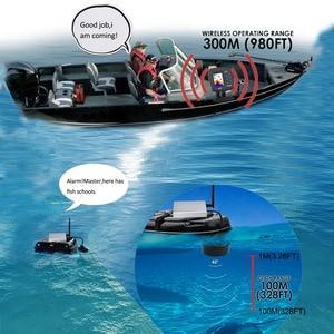 Image 4 - 럭키 원격 제어 어군 탐지기 에코 사운 더 FF918 CWLS 컬러 무선 센서 낚시 300 m/980ft 작동 fishfinder # c5