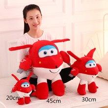 Супер Крылья суперкрылья Джетт мультфильм игрушки плюшевые маленькие куклы для детей 20 см 30 см 45 см