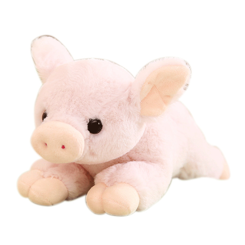 New Arrives 1Pcs 25/30CM Cute Lively Pig Plush&Stuffed Toys Cute Mini Pink Pig Plush Toys Kids Toys Children Birthday Gifts bolafynia factory outlets cute chibi maruko chan plush toy birthday and christmas gifts children stuffed toys