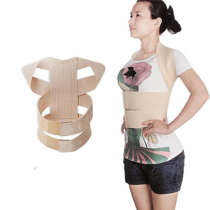 Slouching Posture Corrector Back Braces Body Shaper Belt Shoulder Posture Correction Ladies' Shoulder Squared and Head High T069