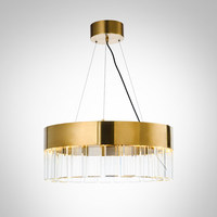 modern gold round pendant light personalized creative stainless steel living room restaurant living room pendant lamps Z17605