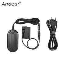 Andoer מצלמה מטען חשמל מתאם ACK E8 אספקת Adaper AC עבור Canon 700D 650D 600D 550D Rebel T5i T4i T3i T2i מצלמה מתאם