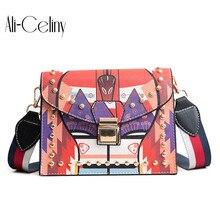 Модная женская сумка-мессенджер, новая брендовая кожаная женская сумка через плечо, роскошные женские сумки с бриллиантами, сумки на ремне