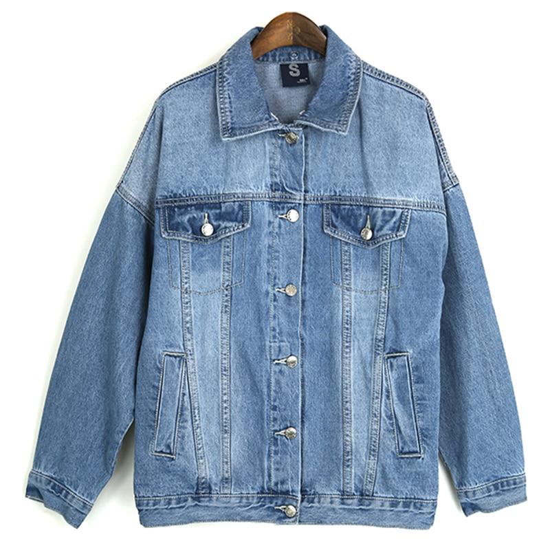 Base Automne De Haute Femme Manteau Survêtement Casual Amovible Vestes Denim Qualité Vintage Jean Chapeau Streetwear Femmes Bleu Veste wqpqB7X