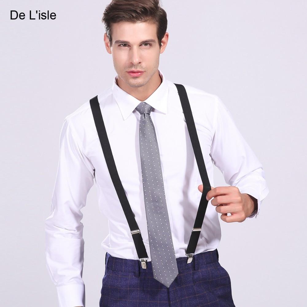 2.5cm X Type Classic Suspenders British Braces Elegant For Men And Women Thick Straps For Adult Premium Gift